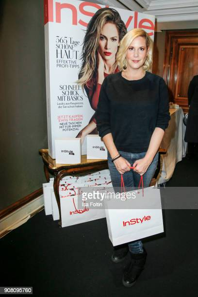 Director Anika Decker during the Burda Style Lounge on the occasion of the German Film Ball on January 20 2018 in Munich Germany