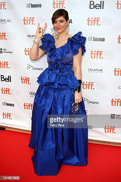 Director Anita Doron attends The Lesser Blessed Premiere at the 2012 Toronto International Film Festival at the Isabel Bader Theatre on September 9...