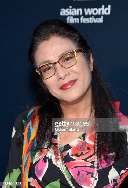 Director Ankie Lau attends the opening night premiere of Just Mercy at ArcLight Culver City on November 06 2019 in Culver City California