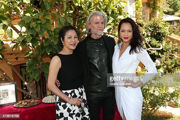 Director Ankie Lau Dr Hermann Buehlbecker sole owner of Lambertz Group Sponsor and Member of the Event Committee Ankie Beilke during the Hollywood...