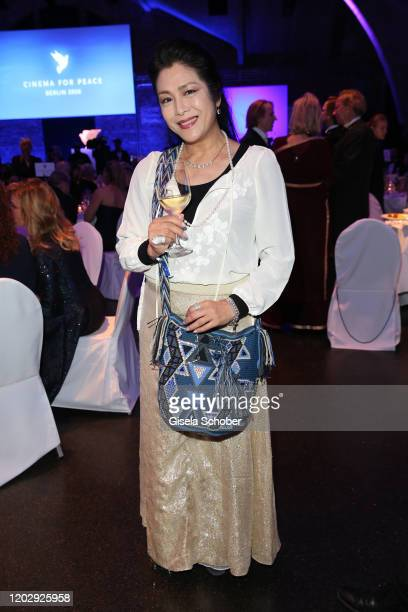 Director Ankie Lau during the Cinema For Peace Gala at Westhafen Event Convention Center on February 23 2019 in Berlin Germany