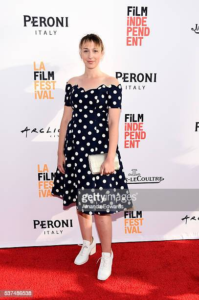 Director Anna Kerrigan attends the premiere of 'Lowriders' during opening night of the 2016 Los Angeles Film Festival at ArcLight Cinemas' Cinerama...