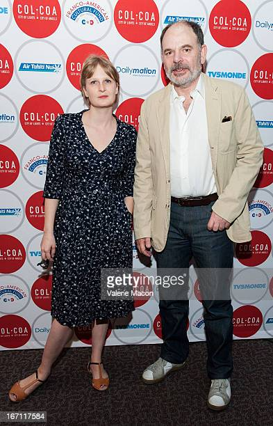 Director Anna Novion and actor JeanPierre Darroussin attend 17th Annual City Of Lights City Of Angels Film Festival at Directors Guild Of America on...