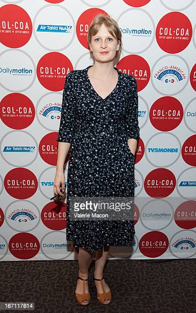 Director Anna Novion attends 17th Annual City Of Lights City Of Angels Film Festival at Directors Guild Of America on April 20 2013 in Los Angeles...