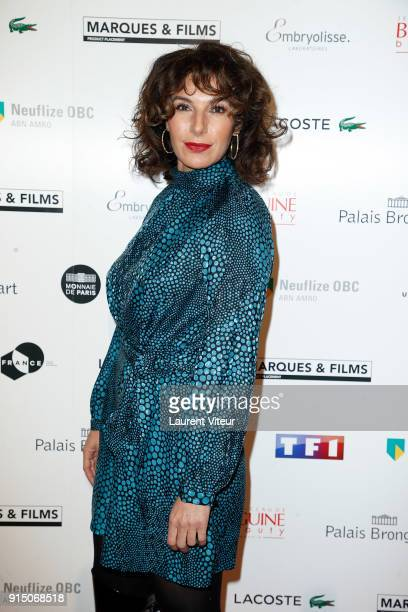 Director Anne de Petrini attends '25th Trophees du Film Francais' at Palais Brongniart on February 6 2018 in Paris France