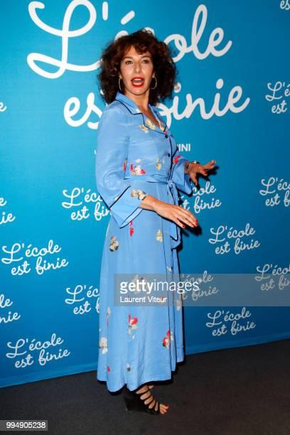 Director Anne Depetrini attends L'Ecole est Finie Pparis Premiere at UGC Cine Cite Bercy on July 9 2018 in Paris France