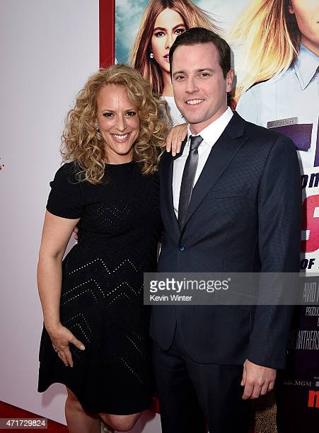 Director Anne Fletcher and actor Michael Mosley attend the premiere of New Line Cinema and MetroGoldwynMayer's 'Hot Pursuit' at TCL Chinese Theatre...