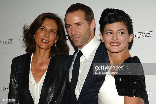 Director Anne Fontaine Actor Alessandro Nivola and Actor Audrey Tautou attend the Coco Before Chanel New York Premiere at the Paris Theatre on...