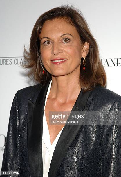 Director Anne Fontaineattends the Coco Before Chanel New York Premiere at the Paris Theatre on September 15 2009 in New York City