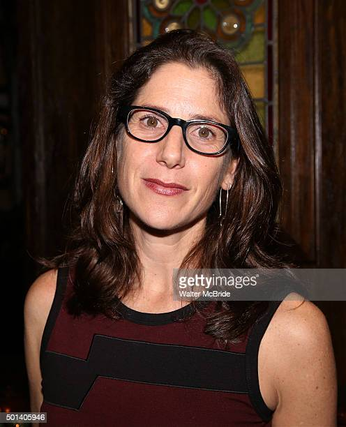 Director Anne Kauffman attends the opening night after party for the Playwrights Horizons New York premiere production of 'Marjorie Prime' at Tir Na...
