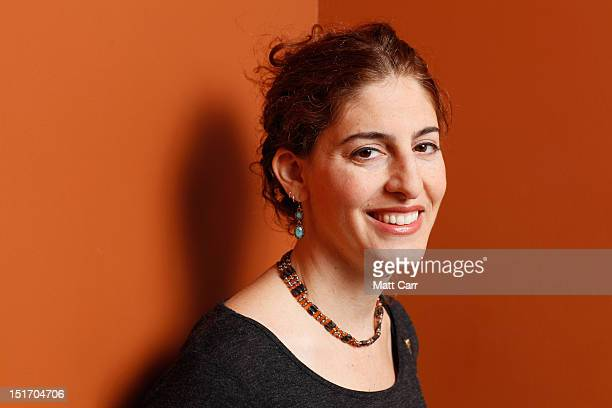 Director Annemarie Jacir of 'When I Saw You' poses at the Guess Portrait Studio during 2012 Toronto International Film Festival on September 10 2012...