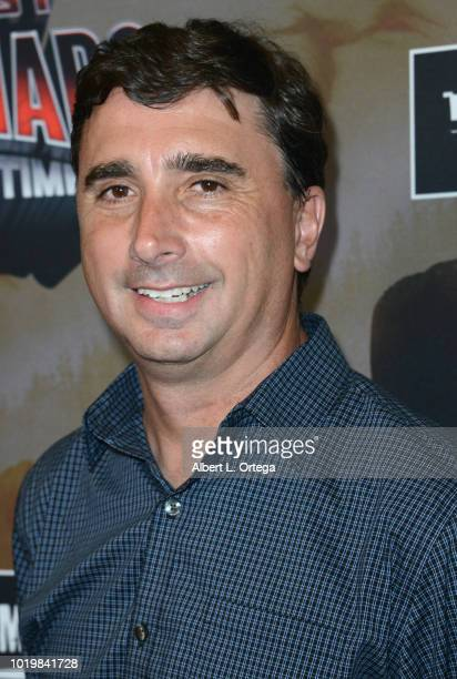 Director Anthony C Ferrante arrives for the Premiere Of The Asylum And Syfy's 'The Last Sharknado It's About Time' held at Cinemark Playa Vista on...
