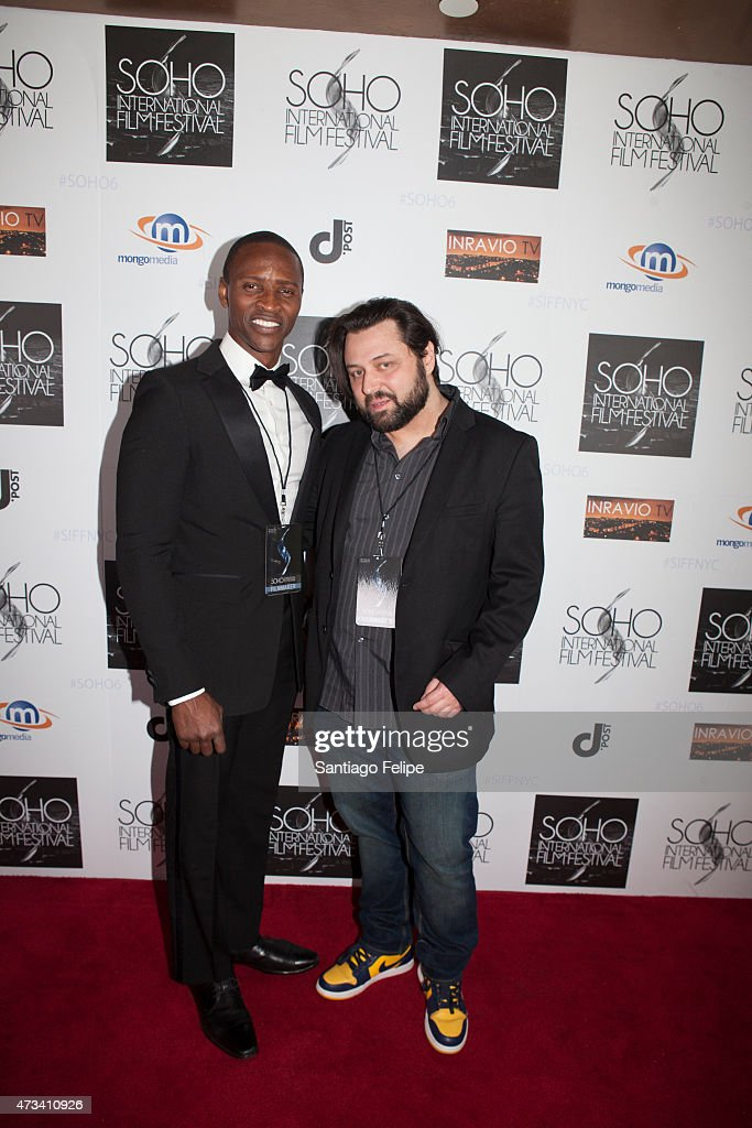 Director Anthony deLioncourt and Actor Jaiden Kaine attend SOHO International Film Festival 2015 at Village East Cinema on May 14, 2015 in New York City.