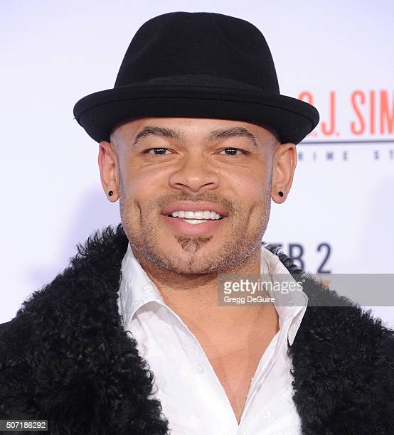 Director Anthony Hemingway arrives at the premiere of 'FX's 'American Crime Story The People V OJ Simpson' at Westwood Village Theatre on January 27...