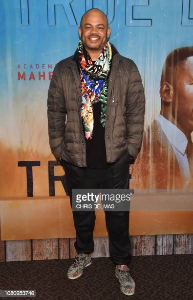 US director Anthony Hemingway arrives for the Los Angeles Premiere of HBO's series 'True Detective' season 3 at the Directors Guild of America on...