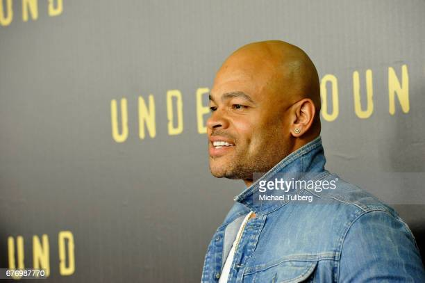 """Director Anthony Hemingway attends a For Your Consideration event for WGN America's """"Underground"""" at The Landmark on May 2, 2017 in Los Angeles,..."""