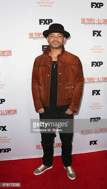 Director Anthony Hemingway attends the FX's For Your Consideration Event for 'The People v OJ Simpson American Crime Story' at The Theatre at Ace...