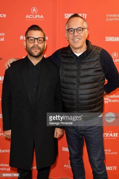 Director Anthony Mandler and Director of Sundance Film Festival John Cooper attend the 'Monster' Premiere during the 2018 Sundance Film Festival at...
