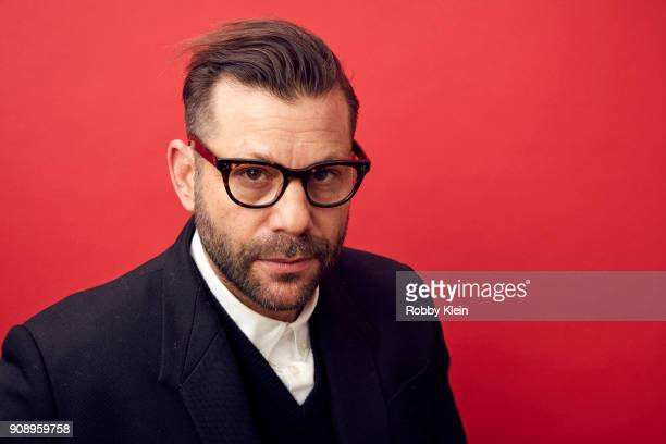 Director Anthony Mandler from the film 'Monster' poses for a portrait in the YouTube x Getty Images Portrait Studio at 2018 Sundance Film Festival on...