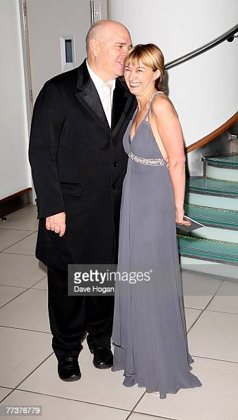 Director Anthony Minghella and his guest attend The Times BFI 51st London Film Festival opening night gala screening of Eastern Promises at Odeon...
