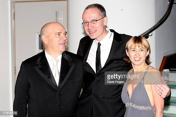 Director Anthony Minghella and his guests attend The Times BFI 51st London Film Festival opening night gala screening of Eastern Promises at Odeon...