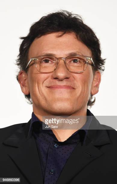 Director Anthony Russo attends the Japan premiere of 'Avengers Infinity War' at the Toho Cinemas Hibiya on April 16 2018 in Tokyo Japan