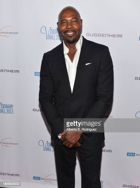 Director Antoine Fuqua arrives to the 2013 UCLA Neurosurgery Visionary Ball at the Beverly Wilshire Four Seasons Hotel on October 24 2013 in Beverly...