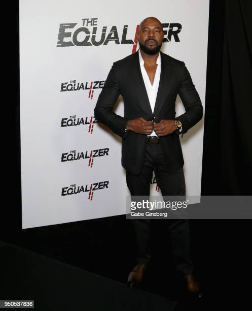 Director Antoine Fuqua attends the CinemaCon 2018 Gala Opening Night Event Sony Pictures Highlights its 2018 Summer and Beyond Films at The Colosseum...