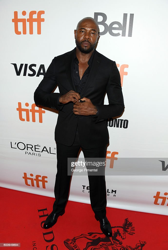 Director Antoine Fuqua attends 'The Magnificent Seven' premiere during the 2016 Toronto International Film Festival at Roy Thomson Hall on September 8, 2016 in Toronto, Canada.