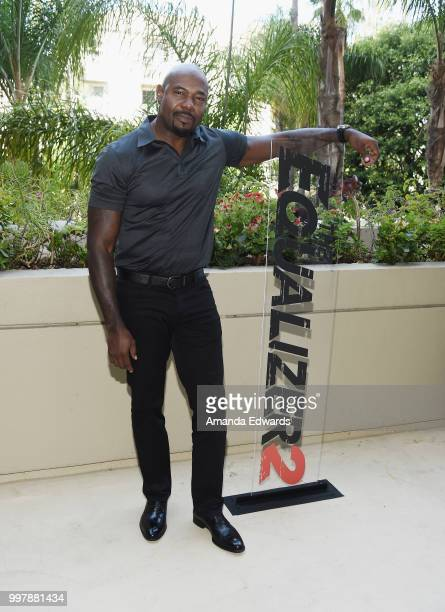 Director Antoine Fuqua attends the photo call for Columbia Pictures' 'The Equalizer 2' on July 13 2018 in Los Angeles California
