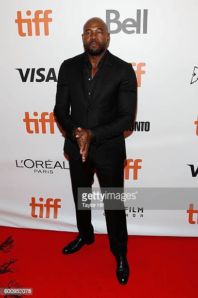 Director Antoine Fuqua attends the world premiere of 'The Magnificent Seven' during the 2016 Toronto International Film Festival at Roy Thomson Hall...