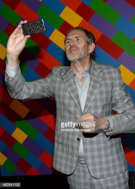 Director Anton Corbijn attends Lionsgate and Roadside Attraction's premiere of 'A Most Wanted Man' hosted by The Cinema Society and Montblanc at the...