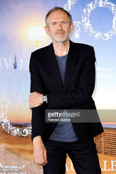 Director Anton Corbijn poses at a photocall during the 40th Deauville American Film Festival on September 6 2014 in Deauville France