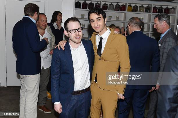 Director Ari Aster and Alex Wolff attends the 'Hereditary' New York screening after party at Metrograph on June 5 2018 in New York City