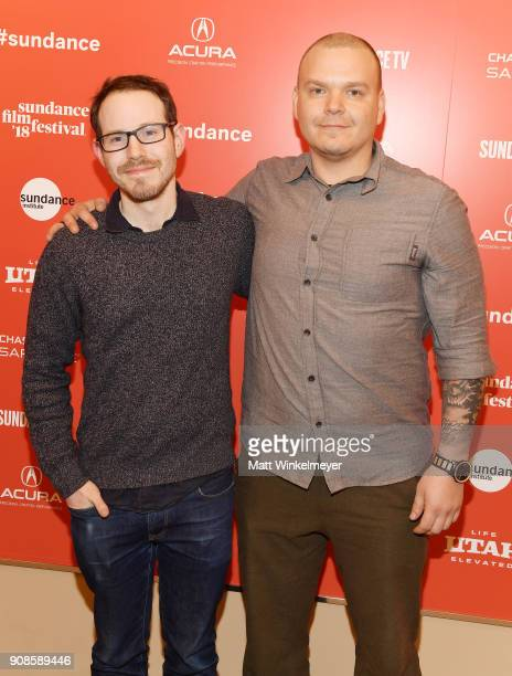 Director Ari Aster and cinematographer Pawel Pogorzelski attend the 'Hereditary' Premiere during the 2018 Sundance Film Festival at Egyptian Theatre...