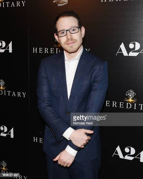Director Ari Aster attends the 'Hereditary' New York Screening at Metrograph on June 5 2018 in New York City