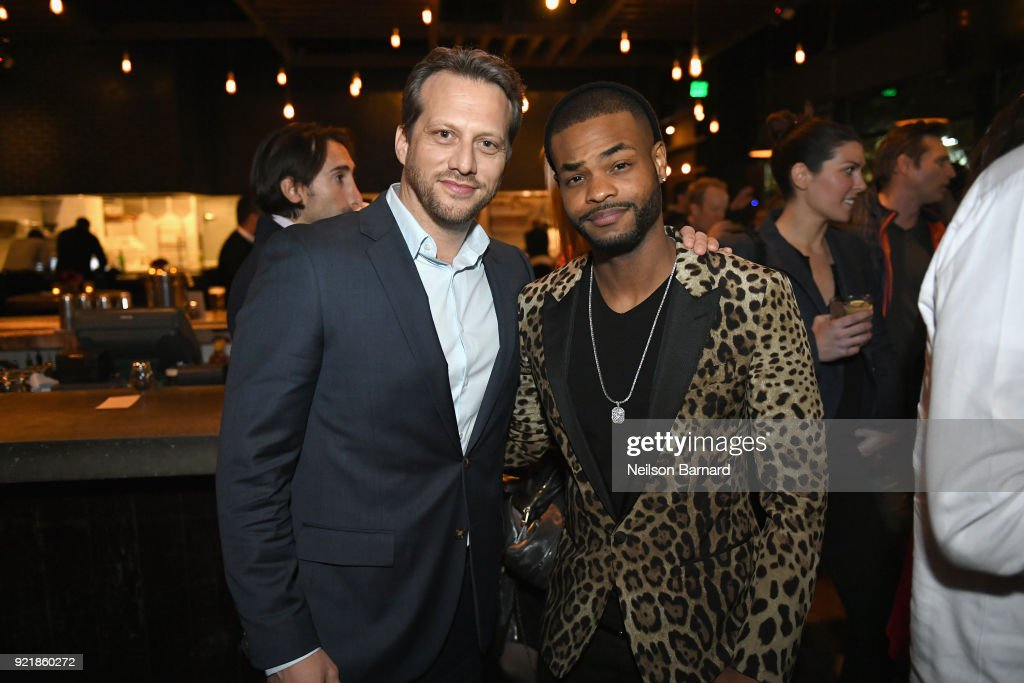 Director Ari Sandel (L) and actor Andrew Bachelor attend Special Screening Of Netflix Original Film' 'When We First Met' at ArcLight Theaters at ArcLight Hollywood on February 20, 2018 in Hollywood, California.