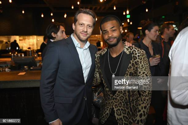 Director Ari Sandel and actor Andrew Bachelor attend Special Screening Of Netflix Original Film' 'When We First Met' at ArcLight Theaters at ArcLight...