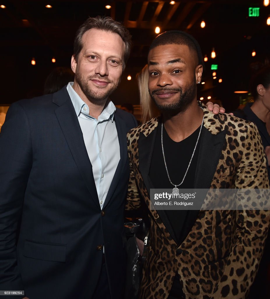 Director Ari Sandel and actor Andrew Bachelor attend the after party for a special screening of Netflix's 'When We First Met' at ArcLight Hollywood on February 20, 2018 in Hollywood, California.