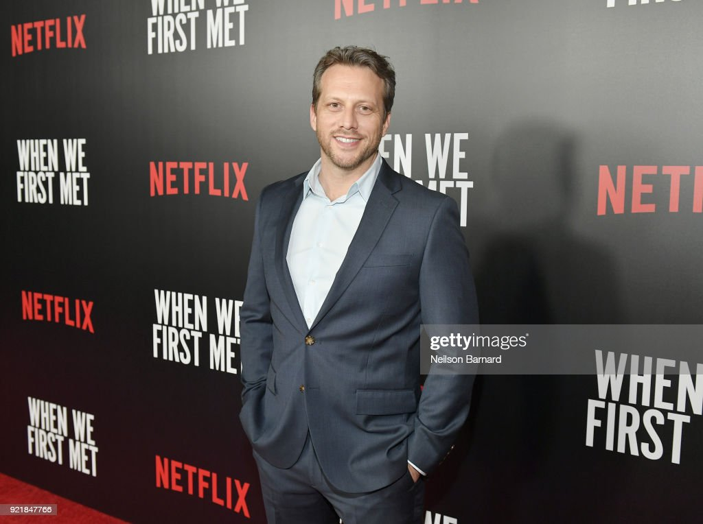 Director Ari Sandel attends Special Screening Of Netflix Original Film' 'When We First Met' at ArcLight Theaters at ArcLight Hollywood on February 20, 2018 in Hollywood, California.