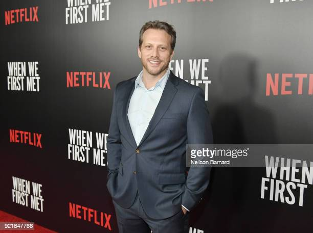 Director Ari Sandel attends Special Screening Of Netflix Original Film' 'When We First Met' at ArcLight Theaters at ArcLight Hollywood on February 20...