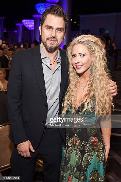 Director Ariel Vromen and Traci Szymanski attend Friends Of The Israel Defense Forces Western Region Gala at The Beverly Hilton Hotel on November 3...