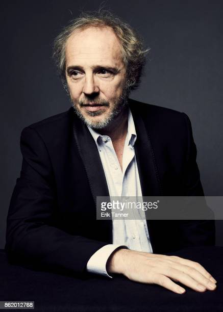 Director Arnaud Desplechin of 'Ismael's Ghosts' poses for a portrait at the 55th New York Film Festival on October 13 2017