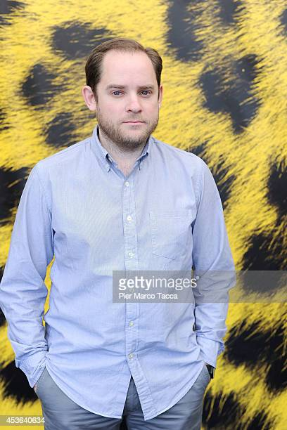 Director Aron Katz attends the 'Land Ho' Photocall during the 67th Locarno Film Festival on August 15 2014 in Locarno Switzerland