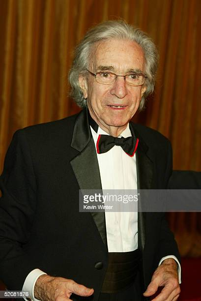 Director Arthur Hiller arrives at the 57th Annual DGA Awards Dinner on January 29 2005 in Beverly Hills California