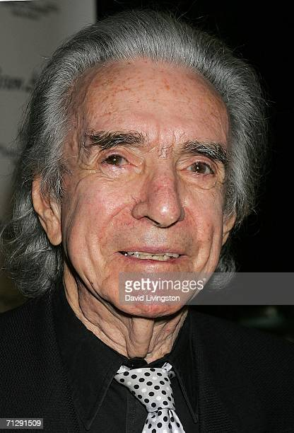 Director Arthur Hiller arrives for the 33rd Annual Vision Awards at the Beverly Hilton on June 24 2006 in Beverly Hills California