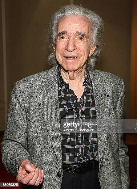 Director Arthur Hiller attends AMPAS' tribute to Alan and Marilyn Bergman on May 29 2009 in Beverly Hills California