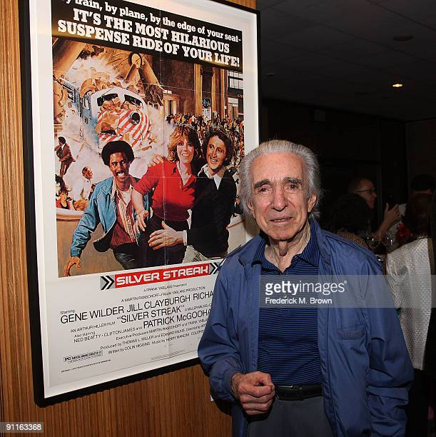 "Director Arthur Hiller attends the Academy of Motion Pictures Arts and Sciences' 30th anniversary of ""The Rose"" at the Samuel Goldwyn Theater on..."