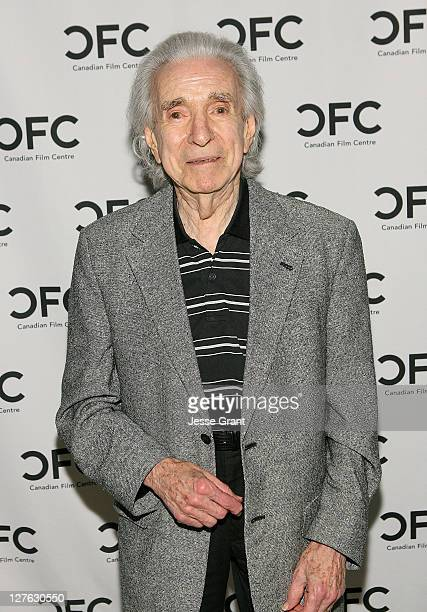 Director Arthur Hiller attends The Canadian Film Centre cocktail reception celebrating the Telefilm Canada Features Comedy Lab held at Avalon Hotel...