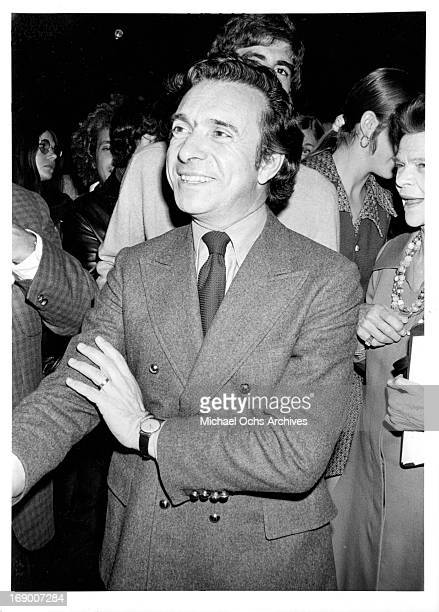 Director Arthur Hiller poses for a portrait in circa 1970.